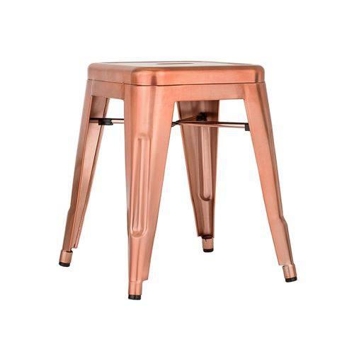 Tamanhos, Medidas e Dimensões do produto Banqueta Iron Tolix 45 Cm - Cobre Rose