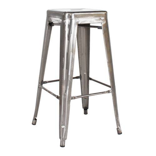 Tamanhos, Medidas e Dimensões do produto Banqueta Iron Tolix Industrial 76 Cm