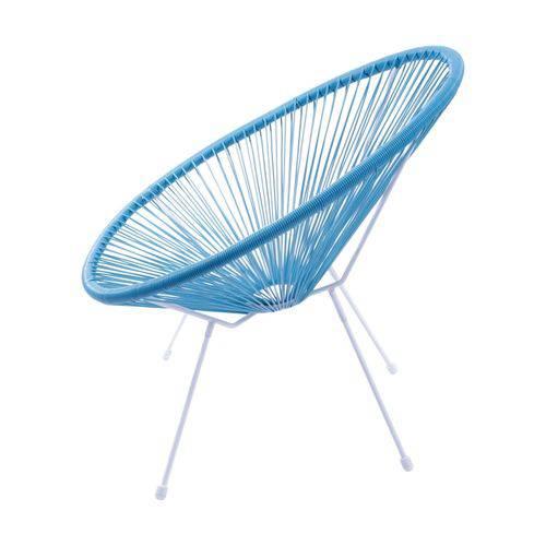 Tamanhos, Medidas e Dimensões do produto Cadeira Acapulco - Cor Azul