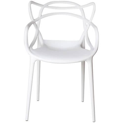 Tamanhos, Medidas e Dimensões do produto Cadeira Allegra Branca - Rivatti