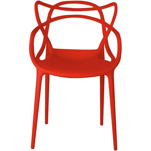 Tamanhos, Medidas e Dimensões do produto Cadeira Allegra Vermelha - Rivatti