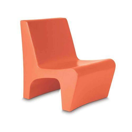 Tamanhos, Medidas e Dimensões do produto Cadeira Berta Laranja