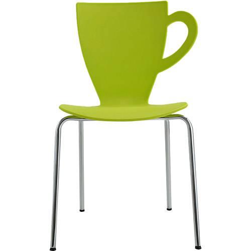 Tamanhos, Medidas e Dimensões do produto Cadeira CT em Plástico PP e Aço Verde - Orb