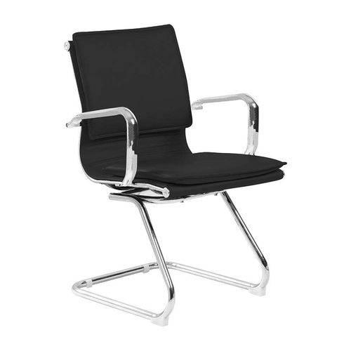Tamanhos, Medidas e Dimensões do produto Cadeira de Escritório Interlocutor Eames Comfort Preta