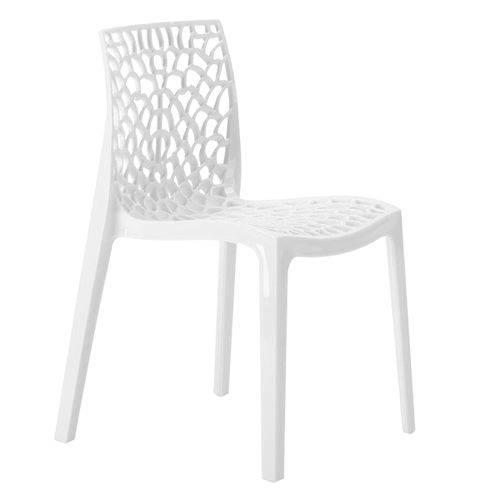 Tamanhos, Medidas e Dimensões do produto Cadeira Gruvyer - Polipropileno - Branco