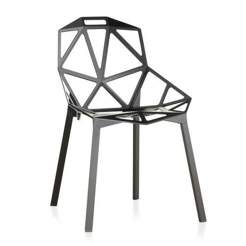 Tamanhos, Medidas e Dimensões do produto Cadeira One - Penélope - Design - Metal - Preto