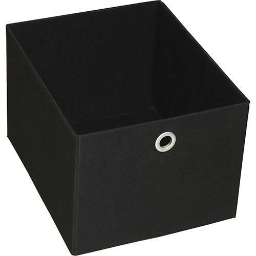 Tamanhos, Medidas e Dimensões do produto Caixa Organizadora 9000596 Média Preta - Components
