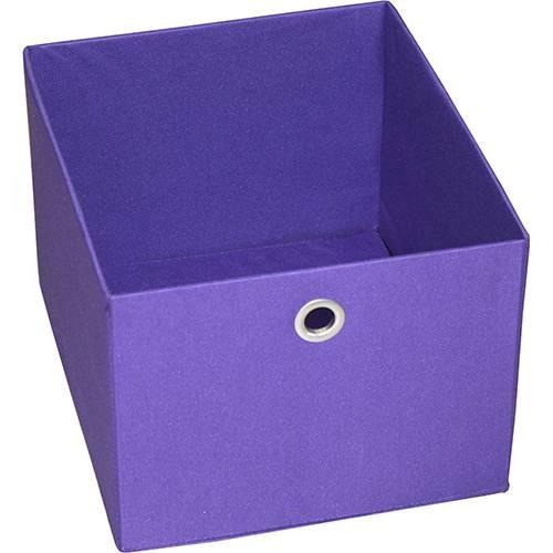 Tamanhos, Medidas e Dimensões do produto Caixa Organizadora 9000597 Média Roxo - Components