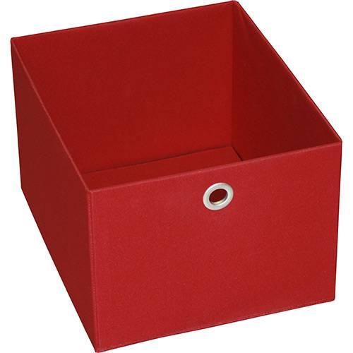 Tamanhos, Medidas e Dimensões do produto Caixa Organizadora 9000600 Média Vermelha - Components