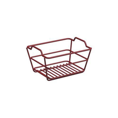 Tamanhos, Medidas e Dimensões do produto Caixa Organizadora Pequena Vermelha