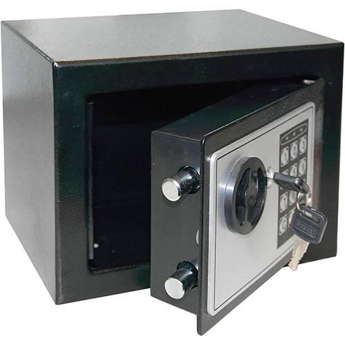 Tamanhos, Medidas e Dimensões do produto Cofre Eletrônico 17 EF (17x17x23cm) - Safewell
