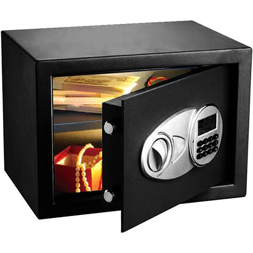 Tamanhos, Medidas e Dimensões do produto Cofre Eletrônico Safewell Modelo 30 com Tela em LED EDI Preto