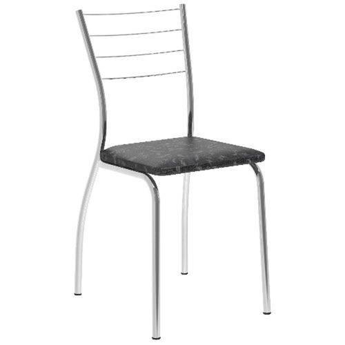 Tamanhos, Medidas e Dimensões do produto Conjunto 2 Cadeiras Carraro 1700 - Tecil Fantasia Preto