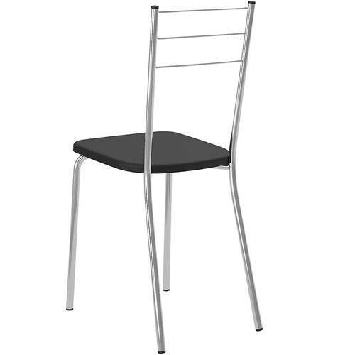 Tamanhos, Medidas e Dimensões do produto Conjunto de 2 Cadeiras 703 Napa – Carraro - Preto