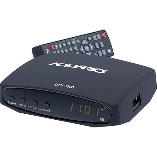 Tamanhos, Medidas e Dimensões do produto Conversor e Gravador Digital Aquário Full HD DTV7000