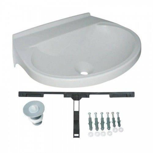 Tamanhos, Medidas e Dimensões do produto Lavatório Plástico 8L 50x40 Astra Branco