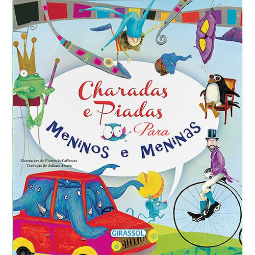 Tamanhos, Medidas e Dimensões do produto Livro - Charadas e Piadas para Meninos e Meninas