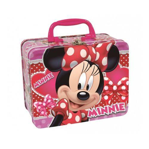 Tamanhos, Medidas e Dimensões do produto Maleta de Metal Infantil Minnie Disney