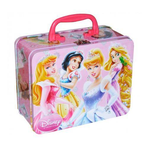 Tamanhos, Medidas e Dimensões do produto Maleta de Metal Infantil Princesas Disney