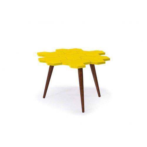 Tamanhos, Medidas e Dimensões do produto Mesa de Centro Colmèia - Amarelo - Tommy Design