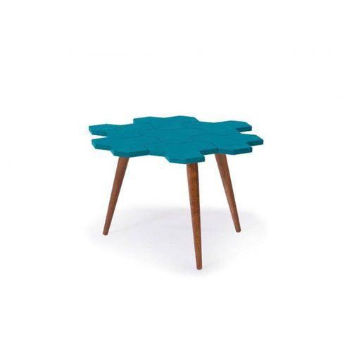 Tamanhos, Medidas e Dimensões do produto Mesa de Centro Colmèia - Azul - Tommy Design