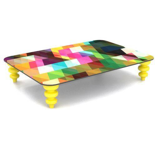 Tamanhos, Medidas e Dimensões do produto Mesa de Centro Estampa Pixel Color