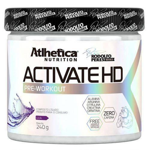 Tamanhos, Medidas e Dimensões do produto Pré-Treino ACTIVATE HD - Atlhetica - 240grs