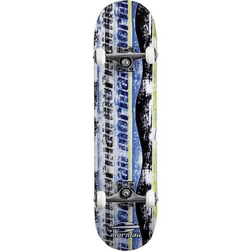 Tamanhos, Medidas e Dimensões do produto Skateboard Chill Mormaii Azul, Preto e Branco