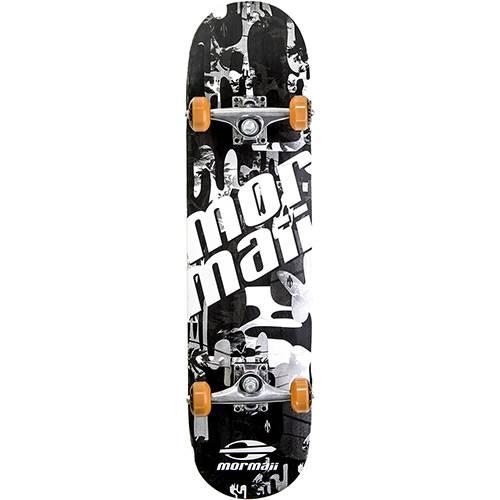 Tamanhos, Medidas e Dimensões do produto Skateboard Chill Mormaii Preto e Branco