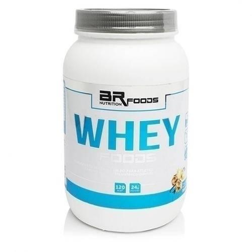 Tamanhos, Medidas e Dimensões do produto Whey Baunilha 900g Br Foods