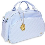 Bolsa Maternidade Matelassê Azul Claro - Angel's Baby