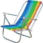 Cadeira de Praia Dobrável em 5 Posições - Botafogo