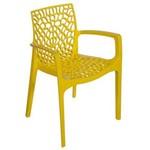 Cadeira Gruvyer Amarela Amarela