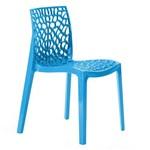 Cadeira Gruvyer - Polipropileno - Azul