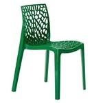 Cadeira Gruvyer - Polipropileno - Verde Escuro