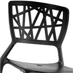 Cadeira Melissa Polipropileno Preto - Rivatti