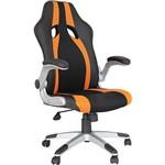 Cadeira Presidente Office Speed Preto/Laranja - Rivatti