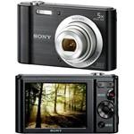 Câmera Digital Sony W800 20.1MP 5x Zoom Óptico 29MB Foto Panorâmica Vídeos HD