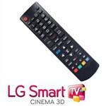 Controle Remoto para Tv LG Smart - Tecla Futebol, 3D, Smart - Serve em Todos Modelos