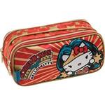 Estojo Duplo Hello Kitty DC Comics Wonder Woman - Pacific