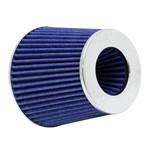 Filtro Esportivo Conico Duplo Fluxo Universal K&N RG-1001bl Azul com 3 Medidas de Flange
