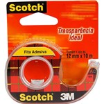 Fita Scotch Rl 12mm X 10M + Hand Dispenser - 3M