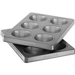 Forma Revestida para 6 Bolinhos - Kit com 2 - KitchenAid