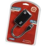 Hub USB 4 Portas 3.0 C3tech Hu-310 Bk
