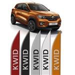 Jogo de Frisos Laterais Renault Kwid Original Modelo Faca