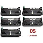 Kit 5 Fotocondutor Similar Dr820 Dr850 Dr3440 Dr3470 Dr3472 Compatível Dcp-L5750dw L6600
