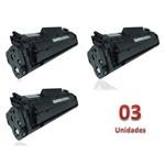 Kit 3 Toner Similares HP 12A Q2612A Compativel HP LaserJet 1010 1012 1015 1018 1020 1022 3015 3020 3030 3050 3052 3055 Multifuncional M1005 M1005MFP M1319 M1319MFP Canon LASER Shot LBP 2900 3000