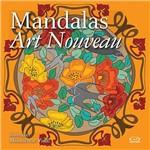 Livro para Colorir Adulto - Mandalas Art Nouveau