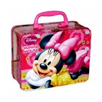 Maleta de Metal Infantil Minnie Disney