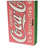 Porta-Chaves Coca-Cola Madeira com Porta em Botellitas - Urban